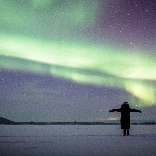 Northern Lights Tour in Ivalo, Inari, Saariselka and Kakslauttanen in Finnish Lapland - by Northern Lights Riders