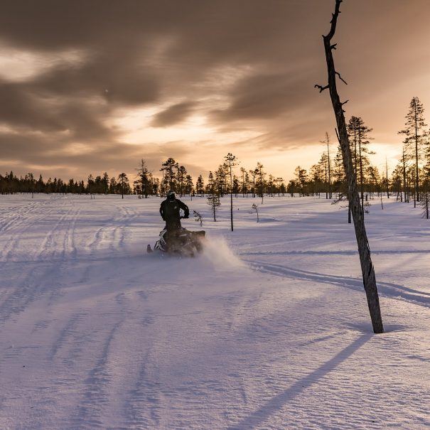 Ice Fishing with Snowmobile - Ivalo - Inari - Saariselka