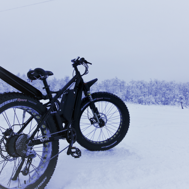 Electric Fatbike rentals and tours - Ivalo - Inari - Saariselkä